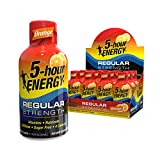 5-hour ENERGY Shot, Regular Strength, Orange, 1.93 Ounce, 12 Pack