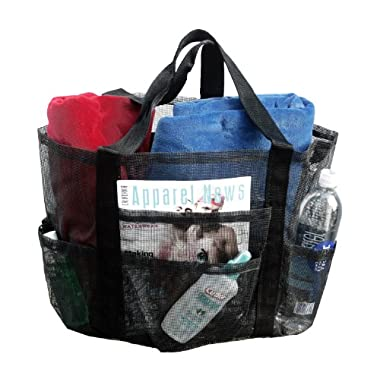 Deluxe Oversized Whale Mesh Family Beach Tote / Bag