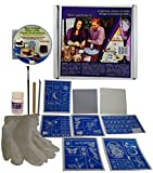 Glass Etching Kit Deluxe with Free How to Etch & Patterns CD...