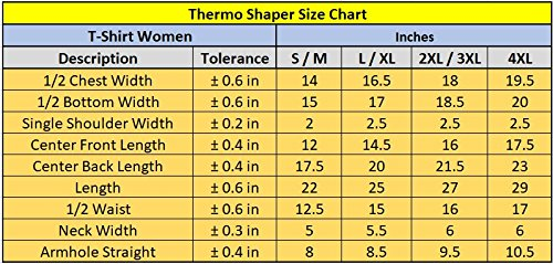 Redu Shaper Shirt Women's Black (Large)