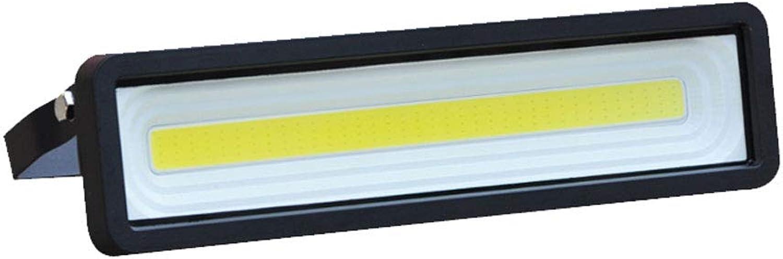 LED-Flutlicht,50W LED Draussen Sicherheit Beleuchtung Wasserdicht IP65,5000LM Tageslicht 6000k Wei Hoch Leistung Stelle Beleuchtung (Farbe   Warmes licht-50W)