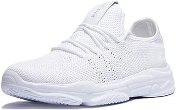 أنيق. حذاء الجري Flyknit للرجال حذاء رياضي كاجوال خفيف الوزن ومسامي