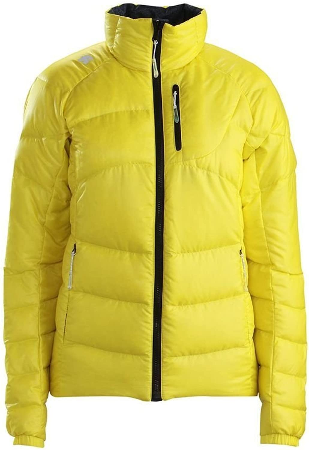 Descente Cadence Reversible Puffy Jacket, Bright Yellow, XSmall