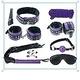 US-DXB (8 PCS A Set of Purple - Set de aromaterapia Suave y Confortable para Hombre Mujer