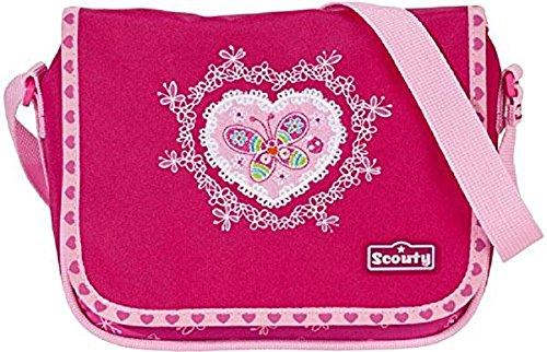 Scout Kinder-Sporttasche Umhänger Ii Schmetterling 3 Liters Pink 20030042700