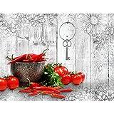 Fototapete Küche Gewürze 352 x 250 cm - Vlies Wand Tapete Wohnzimmer Schlafzimmer Büro Flur Dekoration Wandbilder XXL Moderne Wanddeko - 100% MADE IN GERMANY - 9431011c