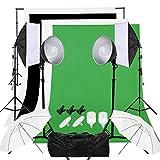 OUBO Kit de Iluminación para fotografía con luz...