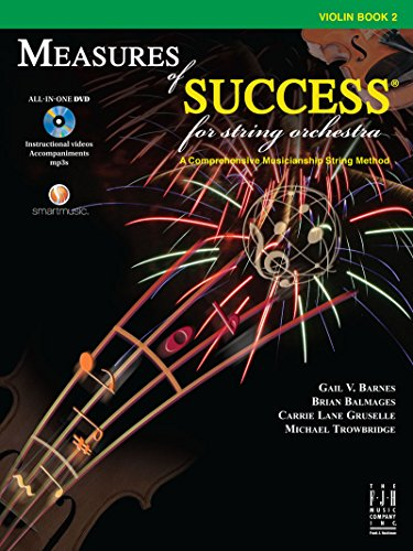 Measures of Success for String Orchestra - Violin Book 2