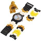 レゴ LEGO Kids' 9002960 Star Wars(スターウォーズ) C3PO(シースリーピーオー) Plastic Watch(プラスチック型 腕時計) with Link Bracelet and Minifigure(ミニフィギュア付) [並行輸入品]