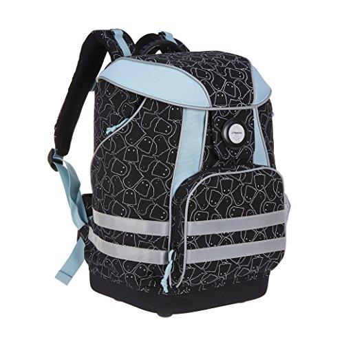 Lässig School Bag Spooky Cartable 40 Centimeters Noir...