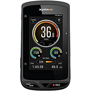 Xplova X5 Smart Ordenador para bicicleta con videocámara integrada ...