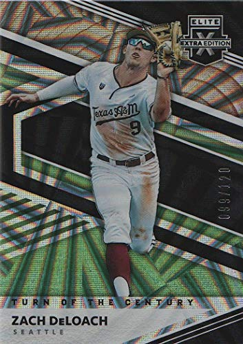 2020 Elite Extra Edition Baseball Turn of the Century #43 Zach DeLoach /120