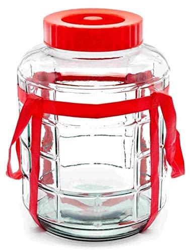 sil2018 16 L Universelles Glas mit Gärsystem Gärbehälter Glasballon Gärball Weinbehälter Gärbottich on Weinballon