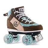 BTFL Trends- Rollschuhe Maggy, für Damen, Mädchen, Discoroller, Rollerskates, Braun, 37