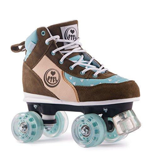BTFL Rollschuhe für Damen und Mädchen/Discoroller/Rollerskates Trends Maggy (EU: 37)