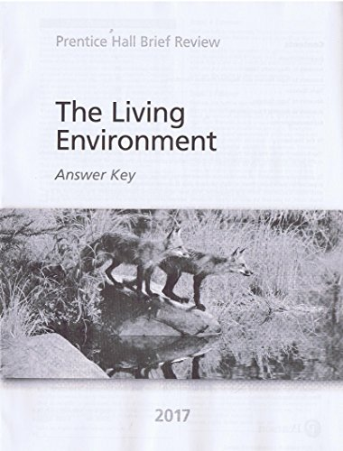 Prentice Hall Brief Review The Living Environment 2017 Student Book + Answer Key