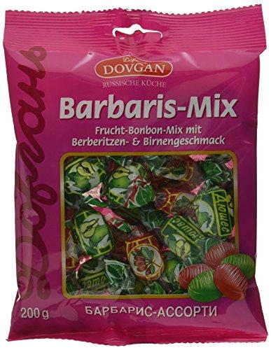 Dovgan Barbaris Frucht-Bonbon-Mix, 12er Pack (12 x 200 g)