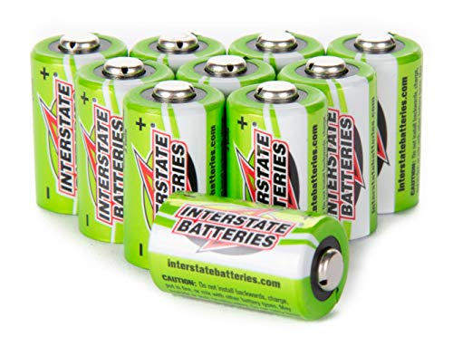 Interstate Batteries Power Patrol 3V Lithium CR2 Batteries 10 Pack (PHO0210A)