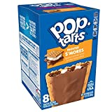 Kellogg's Pop-Tarts Frosted S'mores Toaster Pastries - Fun Breakfast for Kids, Pack of 8(8 boxes, 64 tarts)