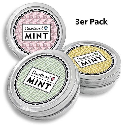 DOCTORS Mint | 3x 70 Pfefferminz Bonbons zuckerfrei | mit Xylit, ohne Aspartam | frischer Atem...