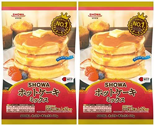 昭和産業 (SHOWA) ホットケーキミックス 600g×2袋