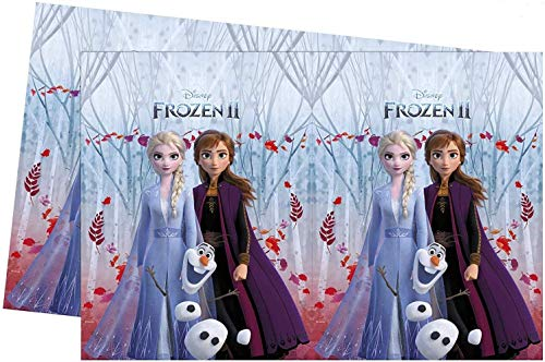 Disney Frozen 2 99487 - Mantel de mesa, color azul , color/modelo surtido