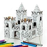 Calafant Kleines Schloss B2602X – zum Basteln, Anmalen & Spielen. Das Original, direkt vom...