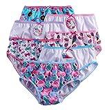 JoJo Siwa Girls' 7-Pc Cotton Underwear Brief Panties (6)