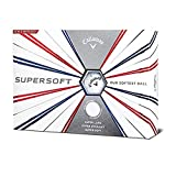 Callaway Supersoft 2019 Golf Ball (12 Ball Pack, White)