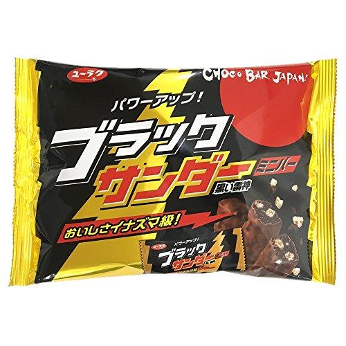 Yuraku Confectionery Black Thunder Minibar 173g