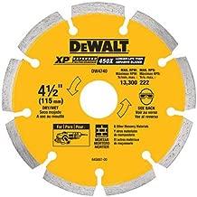 DEWALT DW4740 4-1/2-Inch by .250 XP tuck point blade