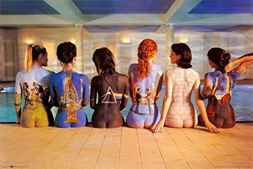 Pink Floyd Back Catalog Music Album Artwork 36x24 Art Print Poster