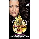 Garnier Olia Ammonia Free Permanent Hair Color, 100 Percent Gray Coverage (Packaging May Vary), 3.0 Darkest Brown...