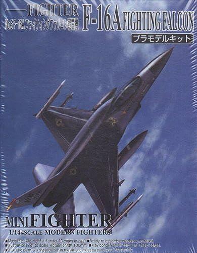 a la venta Mini Fighter Fighter Fighter  5 F-16A Fighting Falcon 1 144 Scale Model Kit by Aoshima  Con 100% de calidad y servicio de% 100.