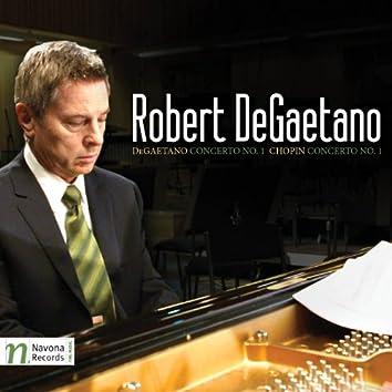 DeGaetano & Chopin: Piano Concertos