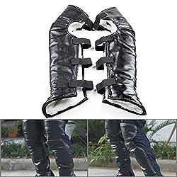 gothic leather leggings