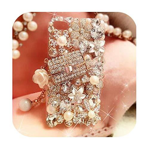 happy-Boutique - Carcasa para iPhone 11, diseño de piedras brillantes 3D para Samsung Galaxy S5 6 7 Edge-5