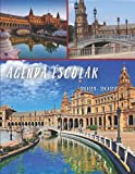 Agenda ESCOLAR 2021-2022: Agenda 2021-2022 Seviilla españa, europa, ciudad, club de fútbol o balonmano, baloncesto etc ... Agenda escolar diaria y ... Diaria en español  Calendario educacion