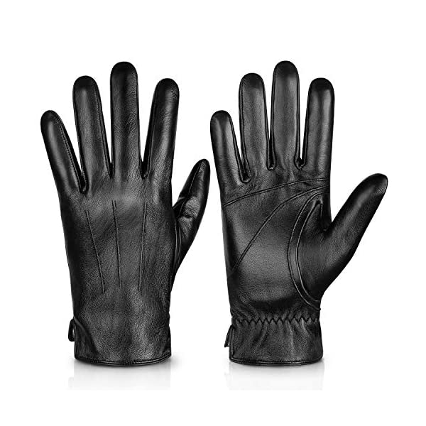 Alepo Genuine Sheepskin Leather Gloves For Men 1