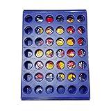 Silverdrew Juguetes Inteligentes para Juegos El Juego Tridimensional de Cuatro Juegos Cuatro ajedrez y Cinco Juegos de Mesa para niños Juguetes educativos