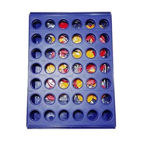Silverdee Intelligentes Spielspielzeug Das dreidimensionale Vierspiel-Vier-Schach-Fünf-Kinder-Brettspiel Lernspielzeug