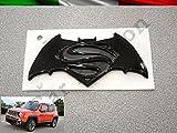 Inscription emblème Logo Batman Vs Superman Dawn Of Justice Jeep Renegade arrière originale noir