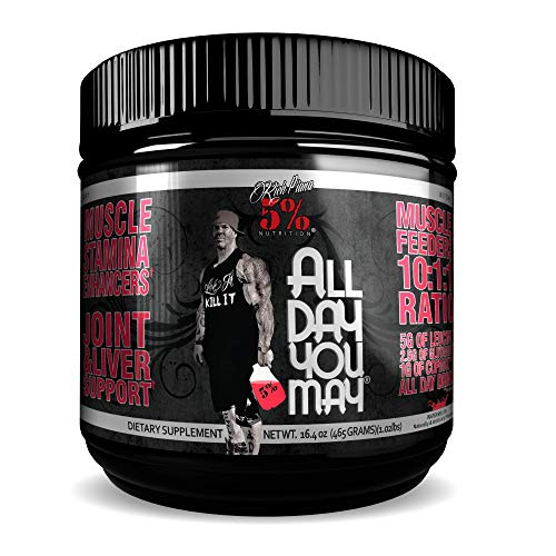 5% Nutrition - Rich Piana All Day you May (30 serv) Watermelon er Pack Ohne Pfand, 465 g