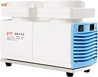 KUNHEWUHUA 120 L/min Oilless Diaphragm Vacuum Pump Oil Free Mute Pump 115v 60Hz