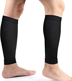 آستین فشرده سازی گوساله ، جوراب های فشرده سازی ساق پا ، جوراب ساق پا و ساق پا از بین بردن درد گوساله برای مردان جوان جوانان برای دویدن ، دوچرخه سواری ، کراس اوت ، پیاده روی و موارد دیگر - چند رنگ