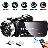 Digital Camcorder with IR Night Vision, IBACAKYS Portable Mini Handheld Video Camera 24.0