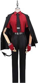 ジャッジ コスプレ 地獄のナンパキング 衣装 Helltaker 仮装 Justice 男女兼用 制服 裁判官 イベント 日常服 メガネ 付き 演出服