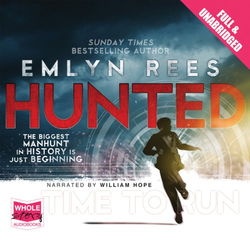 Hunted audiobook cover art