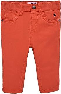 Mayoral Pantalón de algodón Slim Fit, 36 Meses (98 cm), Cangrejo