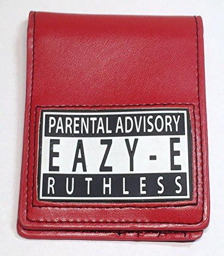 Eazy-E Ruthless Parental Advisory Logo Bi Fold WALLET